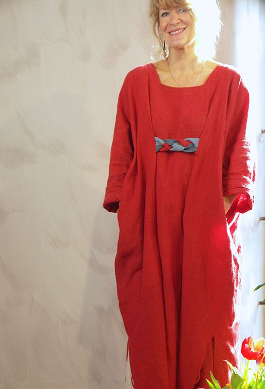 New Astrid Dress, £295, linen in various colours.