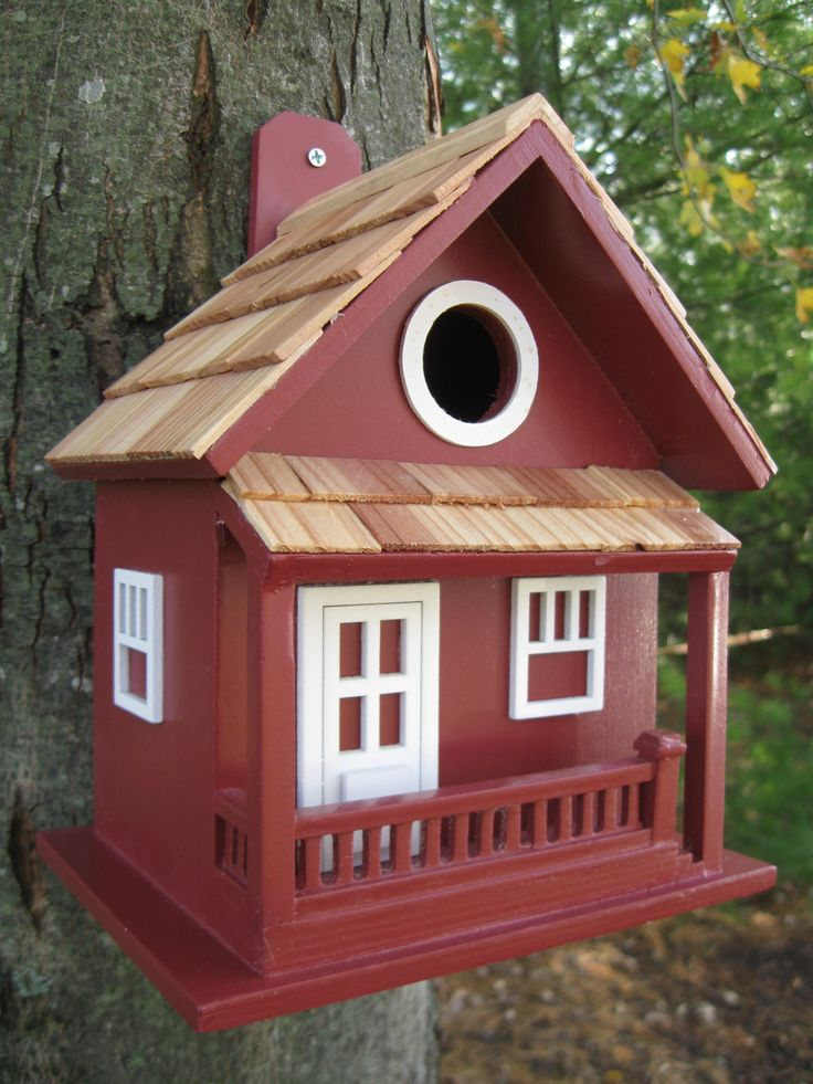 Best 25 red house exteriors ideas on pinterest exterior - Decorative bird houses ...
