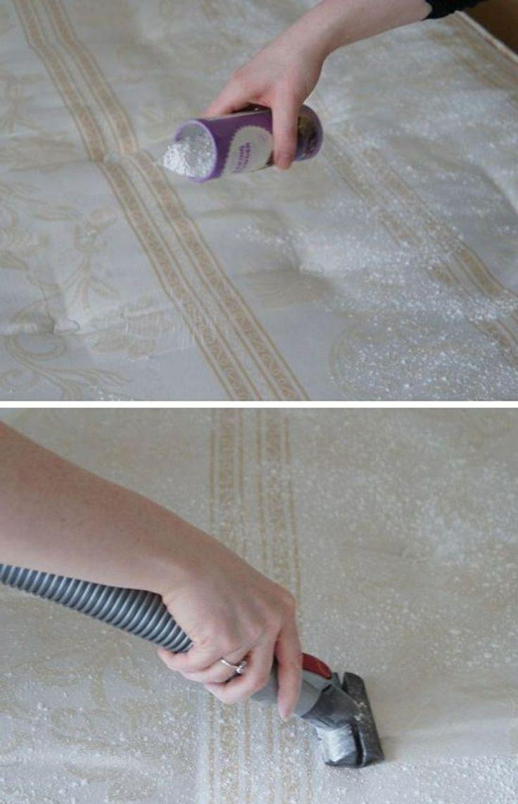 haushaltstipps zum putzen matratze geruchlos natron staubsauger haushalt pinterest. Black Bedroom Furniture Sets. Home Design Ideas
