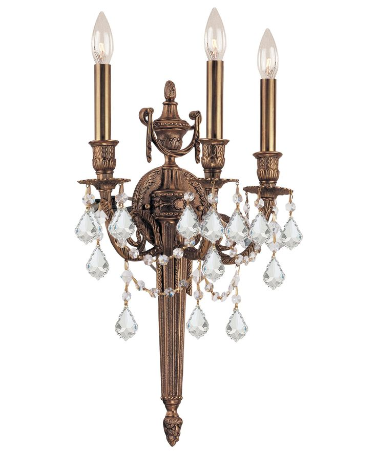 Joss And Main Candle Wall Sconces : Crystorama 753 Arlington 13 Inch Wall Sconce Capitol Lighting 1-800lighting.com wall sconces ...