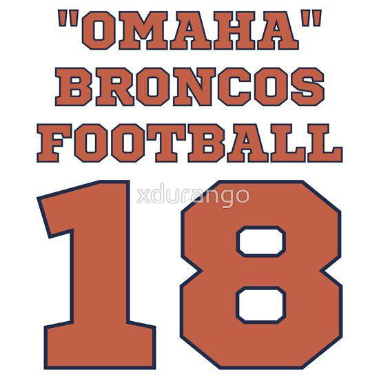 Property of omaha broncos funny parody football hoodie nfl denver