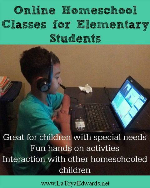 Online homeschool programs are great for elementary students. It's a great way for kids to interact with other homeschoolers and a great way to dig deep into a topic that parents may not be experts in. | LaToyaEdwards.net