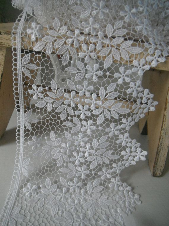 wedding lace crafting lace shabby chic cottage