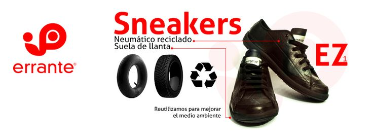 Bags and shoes made from recicled tires.