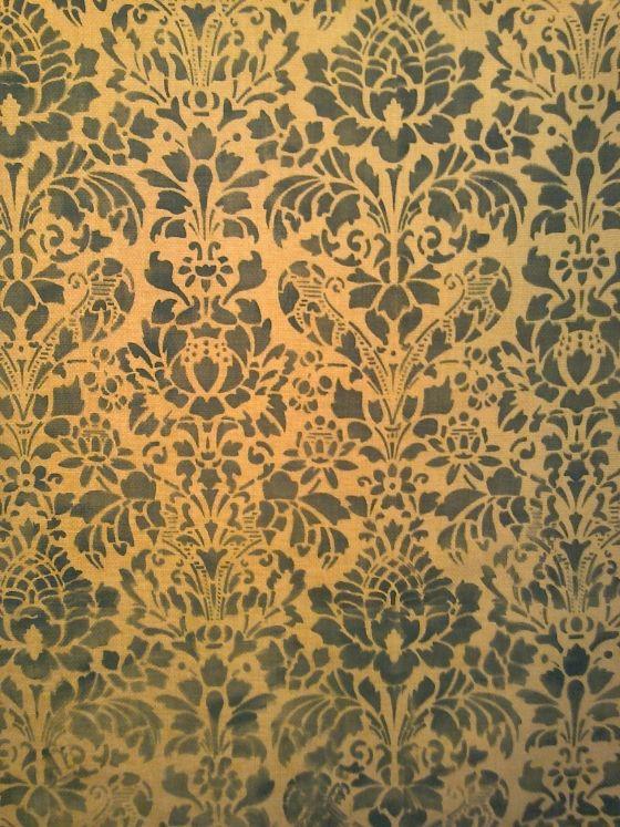 Tessuto per tappezzeria color giallo ocra dipinto a mano gventurapeggi.it/index.php/artigianato-italiano/tessuti-dipinti-a-mano/item/74-tessuto-dipinto-a-mano www.gventurapeggi.it