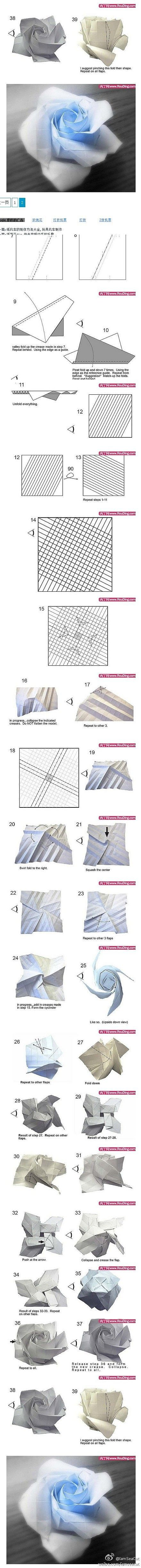 761 Best Paper Craft Images On Pinterest Art Birthdays And Rose Flower Diagram Rosebox Intense Origami
