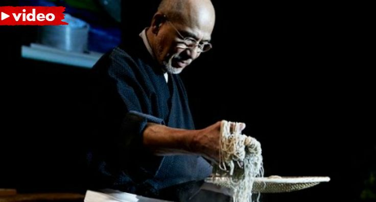 Watching a Soba Master Make Noodles Is Crazy Satisfying