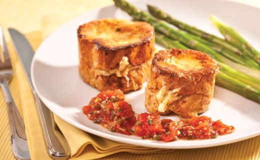 Epicure's Extraordinary Cheese-stuffed French Toast