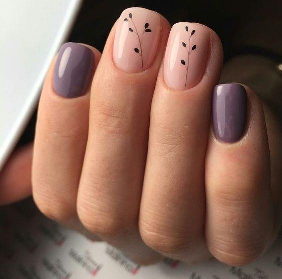 10 tolle Designs für kurze Nägel   – Fingernägel – #Designs #Fingernägel #f…
