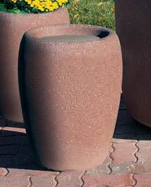 concrete ash urn outdoor ashtray cigarette smokers receptacle tf2032
