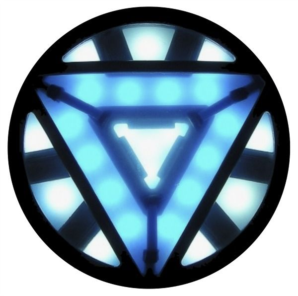 Superhero Printables - Iron Man arc reactor clipart. | I ...