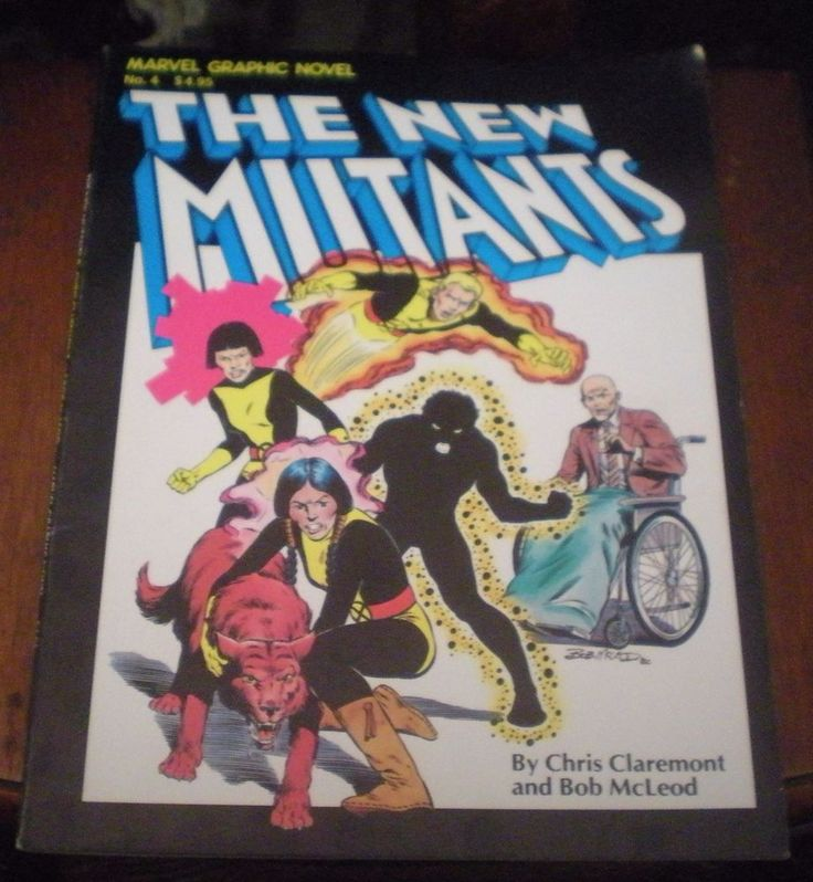 Marvel Graphic Novel #4 (1982) The New Mutants VF - KEY 1st Appearance/1st edit.