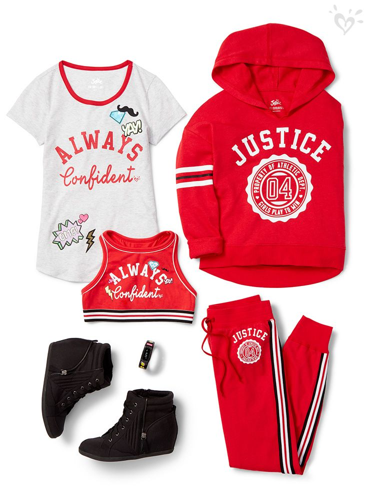 Justice store winter clothes