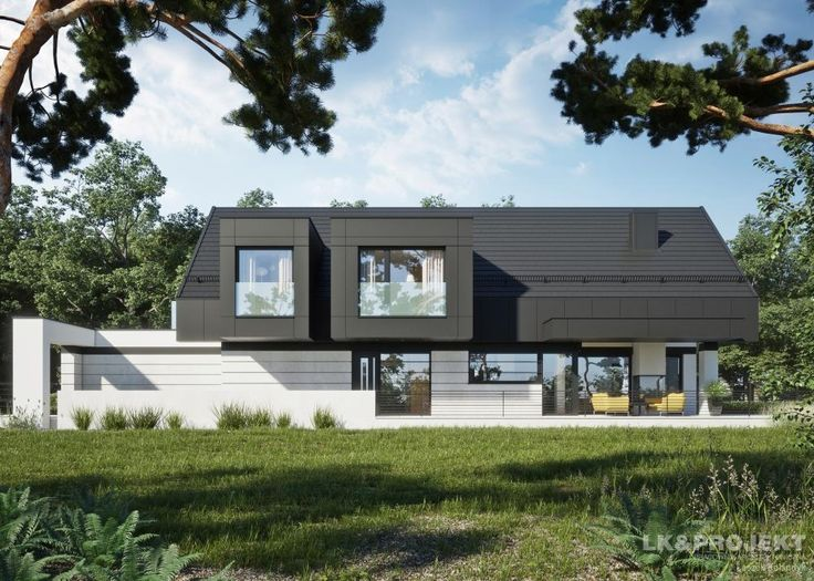 Projekty domów LK&Projekt LK&1336 wizualizacja 15