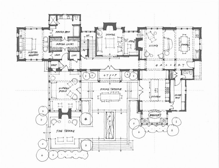 968 best arquitectura planos images on pinterest house for Dakota floor plan