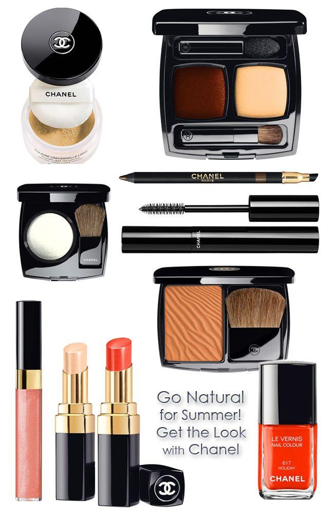 Chanel Summer Look Makeup