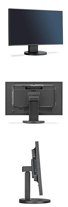 Nec Ex241un Bk. NEC EX241UN-BK 24 Widescreen Full Hd Monitor With 4-sided Ultra-narrow Bezel And Ips Panel.  #nec #ex241un #bk #necex241un #ex241unbk