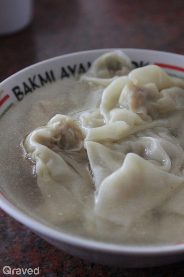 Wonton Soup at Bakmi Alok