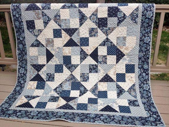 *************Please allow 4 weeks to create this quilt, fabric placement may vary.*************  Measures 63x71 inches  While there are many seasons