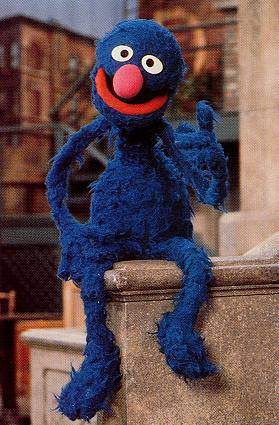I had a life sized Grover doll as a kid. I would dress it up. It was bigger than me. Loved that thing. I loved the waiter and super grover.