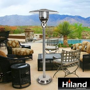 This Hiland Commercial Stainless Steel Gas Patio Heater Is Designed To Provide Years Of Safe