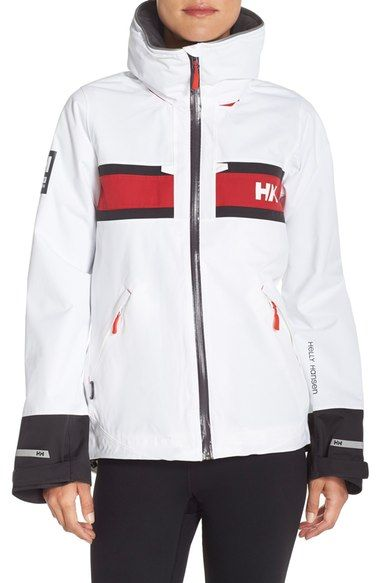 Helly Hansen 'Salt' Waterproof Hooded Jacket available at #Nordstrom