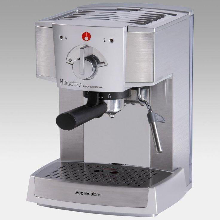 Espressione Cafe Minuetto 1334 Professional Semi-Automatic Home Espresso Machine - 1334/SILVER