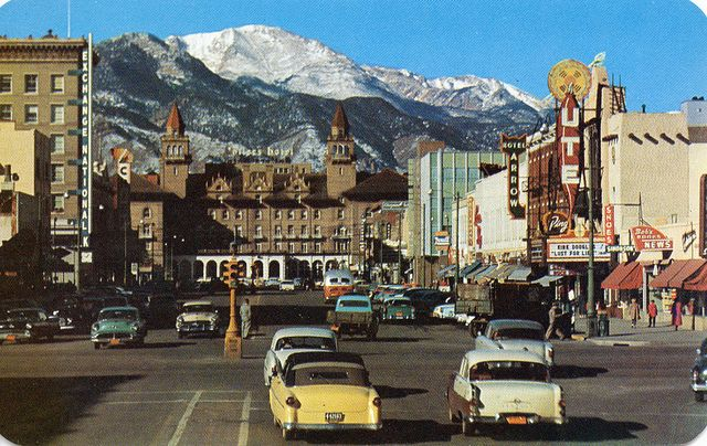 Pikes Peak Avenue Colorado Springs CO | Flickr - Photo Sharing!