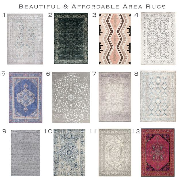 Sita Montgomery Interiors: Beautiful and Affordable Area Rug Round - Up