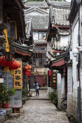 Lijiang Ancient Town, Yunnan, China