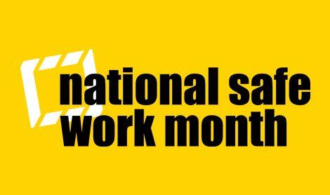 National Safe Work Month logo