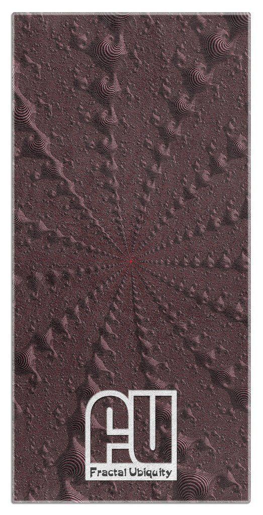 Fractal Beach Microfiber Polyester Oversized Beach Towel by Fractal Ubiquity