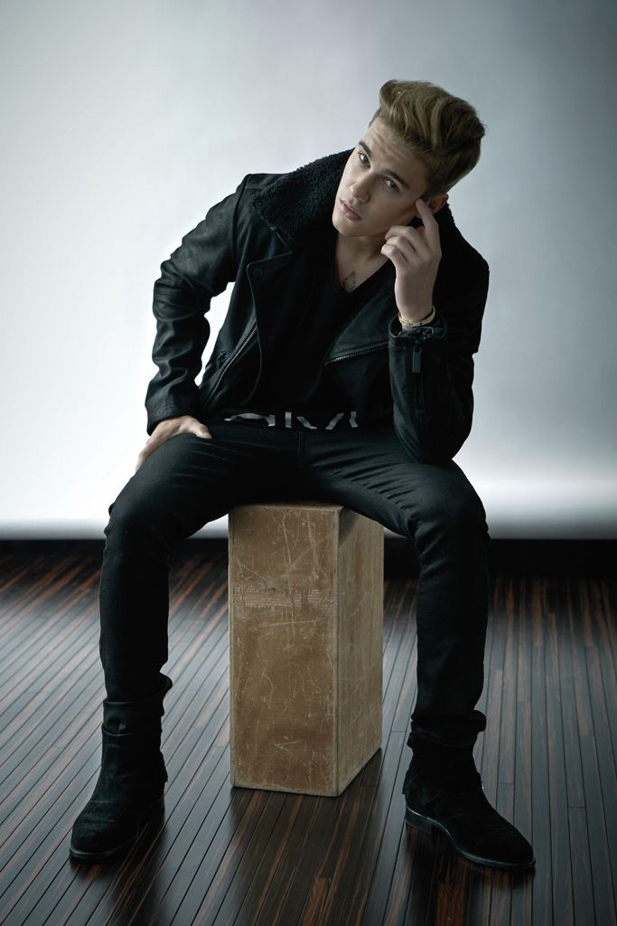 Justin Bieber Talks Calvin Klein + Fashion with WWD