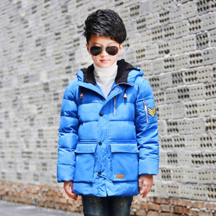 >> Click to Buy << Children Down Jacket Coat Baby Winter Thermal Overalls Warm Clothes Winterjas Jongen Dimond Hoodie Goose Baby Jacket 70Z020 #Affiliate