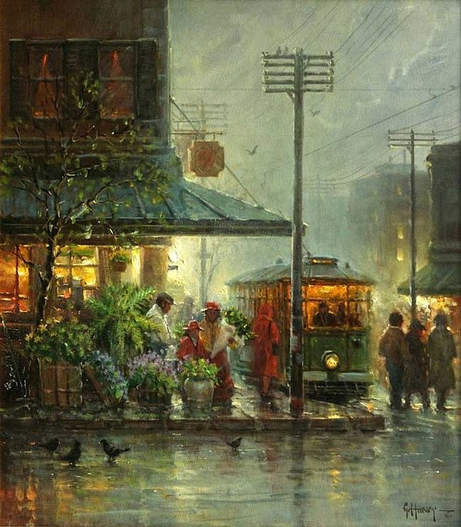 15 best art gerald harvey jones paintings images on for Harvey s paint and body
