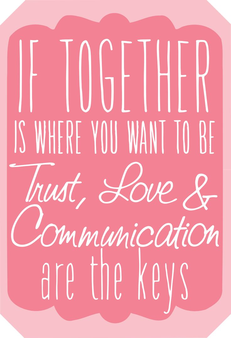 if to her is where you want to be trust love and munication are the keys Funny Life QuotesSmash BookRelationship