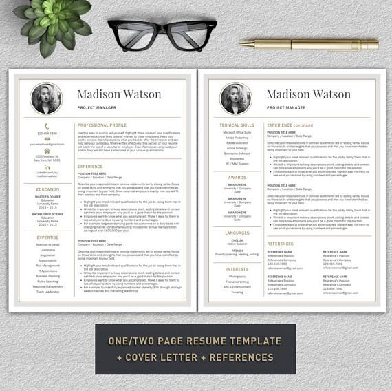 ► SPECIAL VALUE OFFER! ► PROFESSIONAL RESUME TEMPLATES + COVER LETTERS BUNDLE – 5 in 1! You are applying for a job position but not sure which resume to choose? Now you can get 5 resume templates for only $18! Make your great first impression with these professional and modern