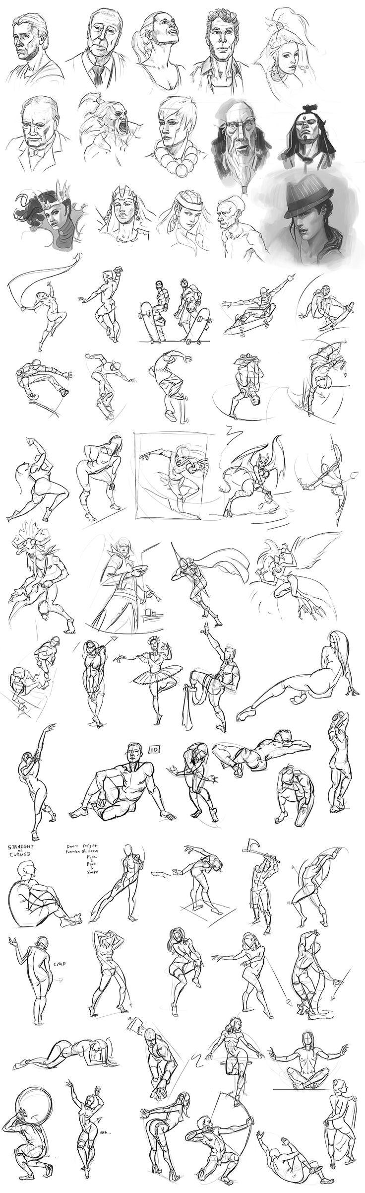 Figure Drawing 014 by Andantonius on deviantART via cgpin.com