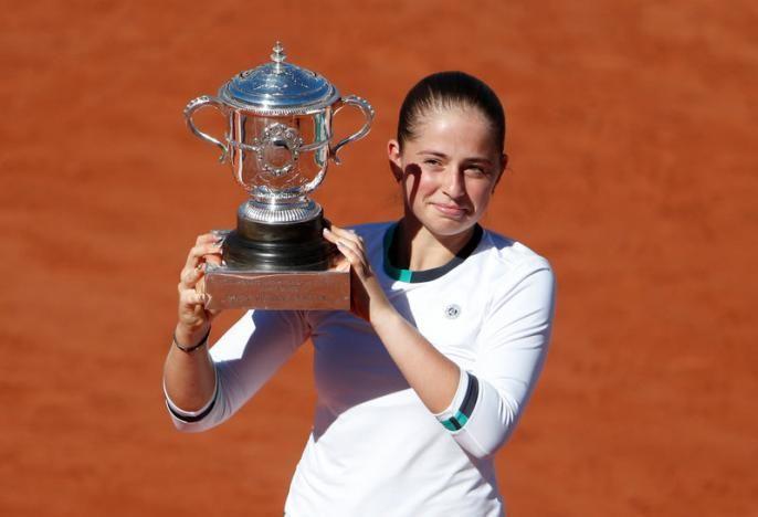 Ostapenko Ganadora Roland Garros 2017 Categoría Femenina