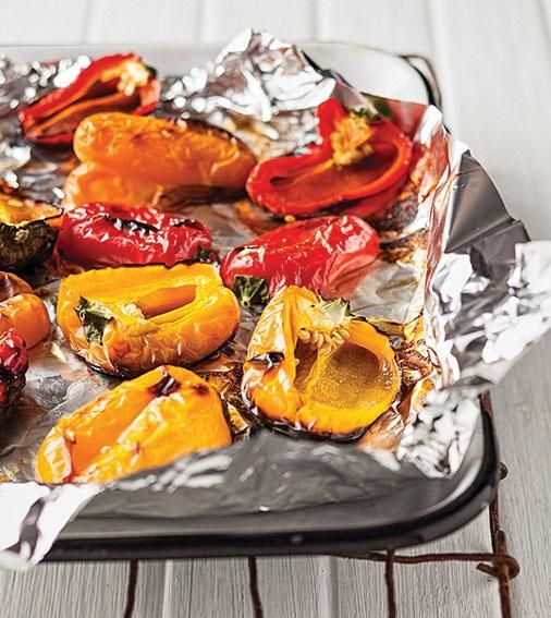 How to grill peppers | Hoe rooster jy soetrissies #HowTo