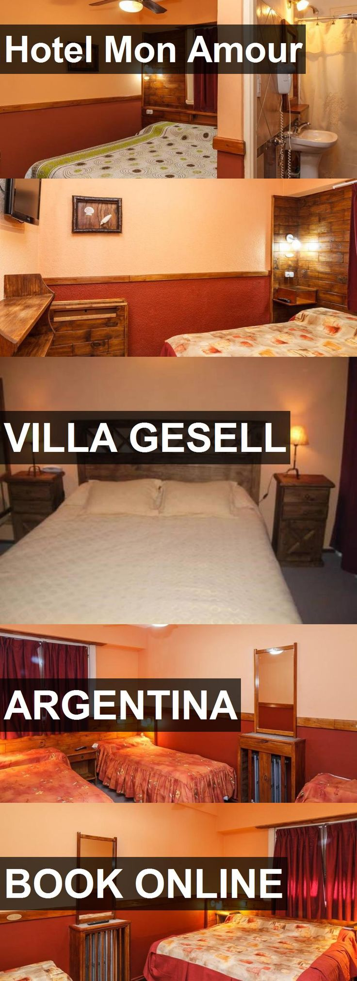 Hotel Mon Amour in Villa Gesell, Argentina. For more information, photos, reviews and best prices please follow the link. #Argentina #VillaGesell #travel #vacation #hotel