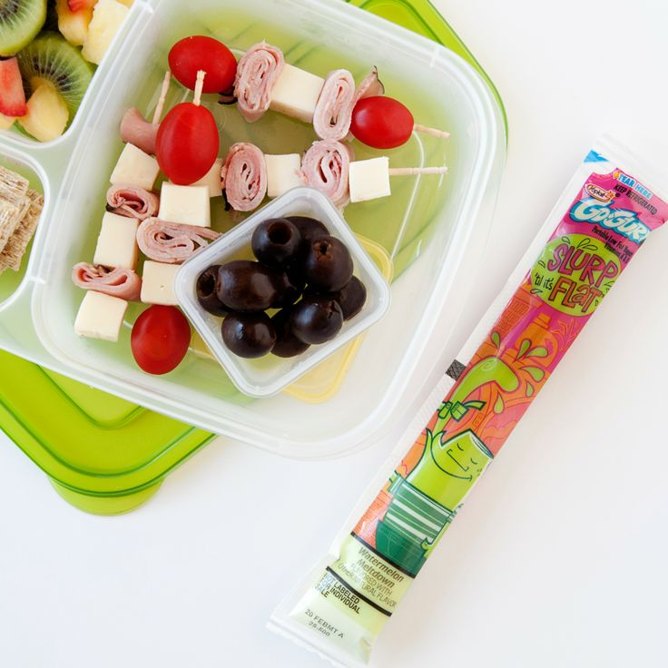 Not many days left of school now - keep up the lunchbox excitement with some kid kabobs!