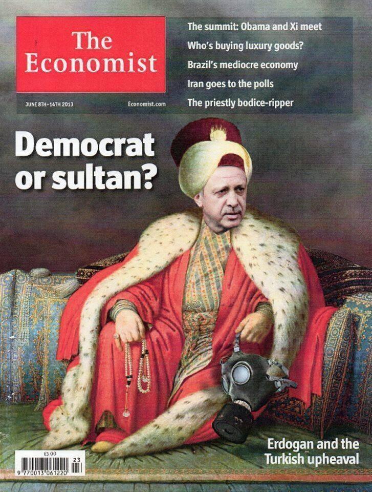 Economist art cover