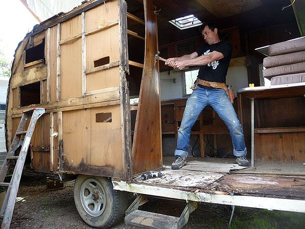 RV Trailer For Tiny House Parts