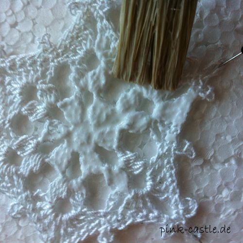 Diy Schneeflocken Gehakelt Oder Gebugelt Crochet Pinterest