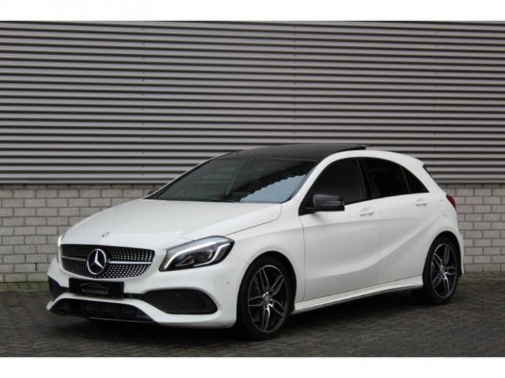 Mercedes-Benz A-Klasse  Description: Mercedes-Benz A-Klasse A200 d Aut AMG-Pakket Night-Pakket Navi Panoramadak Led-Xenon 2016. - 5671066-AWD  Price: 502.19  Meer informatie