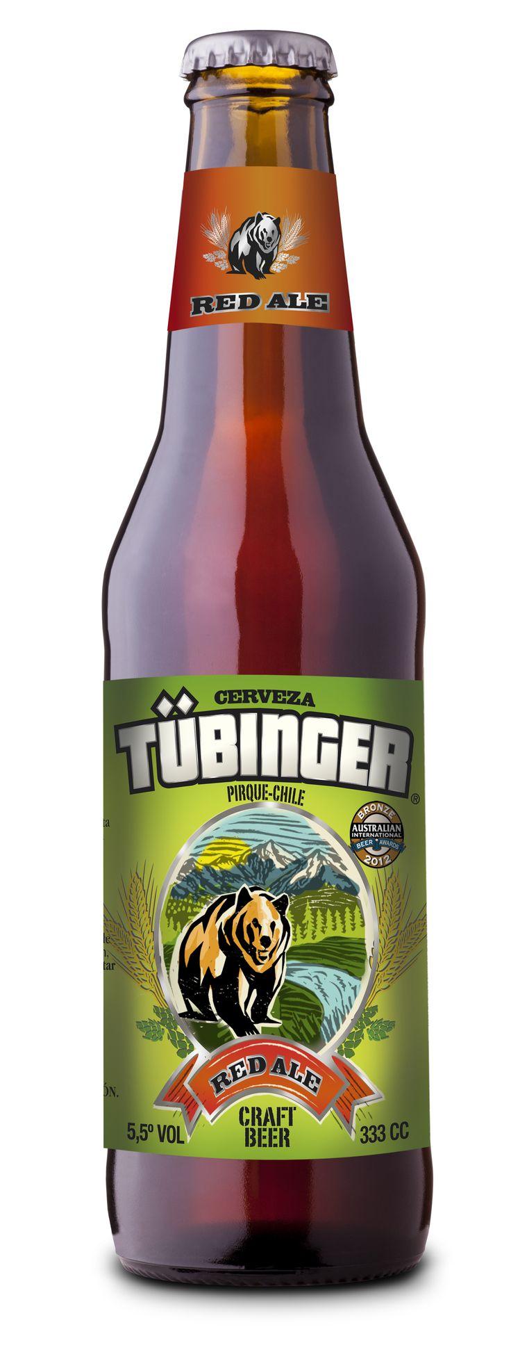 Tübinger Red Ale #craft #beer #craftbeer #cerveza #artesanal #Tubinger #RedAle