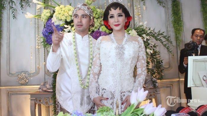 kebaya pengantin modern nagita slavina