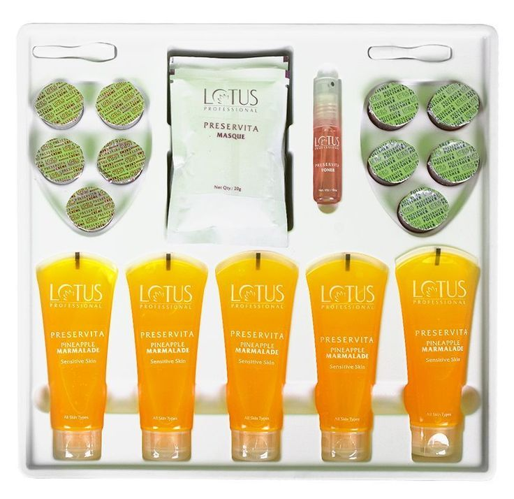 Lotus Professional Preservita Advanced Sensitive Skin Facial Pineapple Marmalade #LotusHerbals