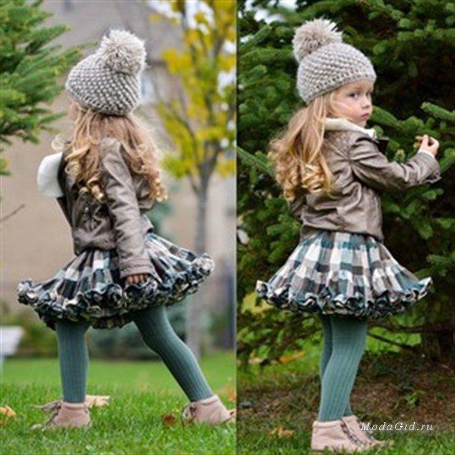 Уличная мода: Модные дети в Instagram: малышка Michelle